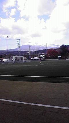 サッカー遠征